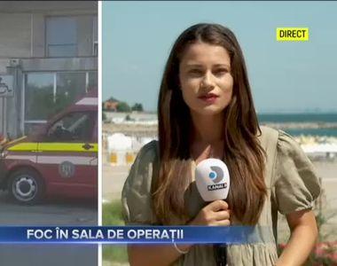 Foc în sala de operații