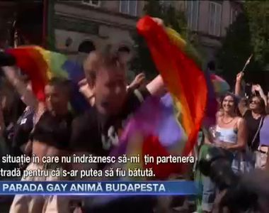 Parada gay amină Budapesta