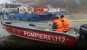 VIDEO| O barcă de agrement cu 9 tineri la bord s-a scufundat în apele Dunării. Un tânăr de 21 de ani este de negăsit