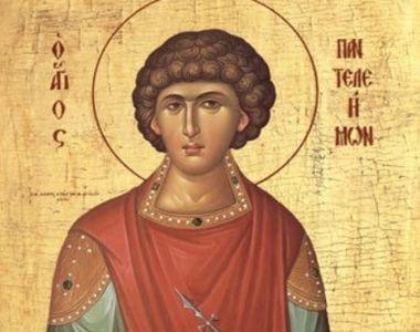 Cine a fost Sfântul Pantelimon, doctorul fără de arginți, pe care îl sărbătorim pe 27...