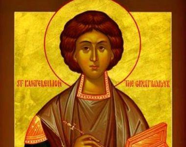 Rugăciunea către Sf. Pantelimon care te ajută să te vindeci de boli