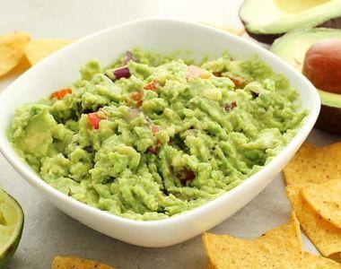 Sos guacamole -  reteţa originală din Mexic