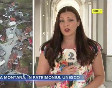Roșia Montană, în patrimoniul UNESCO