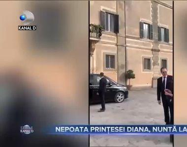 Nepoata prințesei Diana, nuntă la Roma