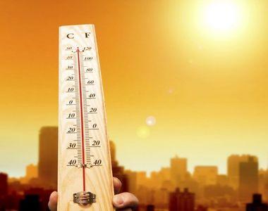 Vreme extremă în România. Cod portocaliu de caniculă, dar și vijelii și grindină