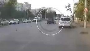 VIDEO | Fetiţa lovită pe trecerea de pietoni