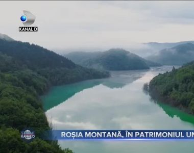 Rosia Montana, in patrimoniul UNESCO