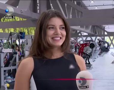 Miruna Lazea, artista care iubeste sportul