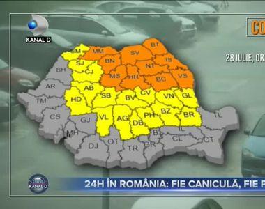 24H în România - Fie caniculă, fie potop