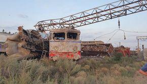 Accident feroviar grav între București și Constanța. Două trenuri de marfă s-au ciocnit noaptea trecută