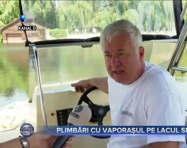 Plimbari cu vaporasul pe lacul Snagov