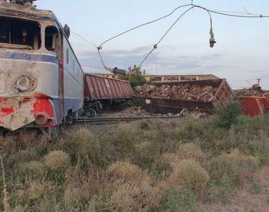 Mecanicul de locomotivă care a provocat accidentul feroviar de la Fetești, reținut
