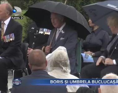 Boris si umbrela buclucasa