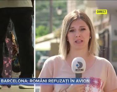Chin in Barcelona - romani refuzati in avion