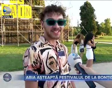 Abia asteapta festivalul de la Bontida