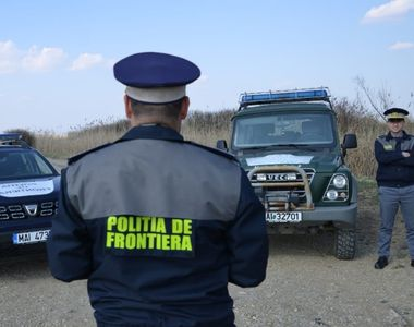 Descoperire şoc la graniţa României, într-o dubă cu mobilă