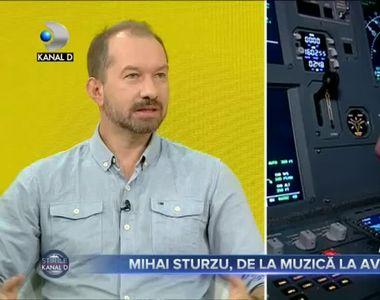 Mihai Sturzu, de la muzica la aviatie