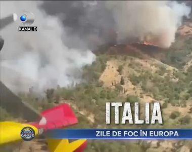 Zile de foc in Europa