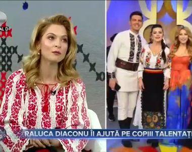 Raluca Diaconu ii ajuta pe copiii talentati