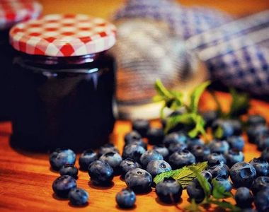 Dulceata de afine. 3 retete delicioase pe care sa le incerci