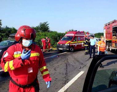 Accident rutier grav. A fost solicitat elicopterul SMURD