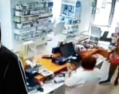 VIDEO   Jaf comis în miezul zilei la o farmacie din Capitală. Cine este autorul?