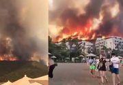 Ce se întâmplă cu turiștii din Antalya?! Incendiile devastatoare de vegetație au făcut ravagii