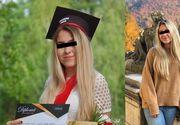 Daria a murit în tragicul accident de pe autostrada A1. Tânăra abia a absolvit liceul