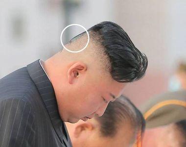 Semn misterios apărut pe ceafa dictatorului Kim Jong-un