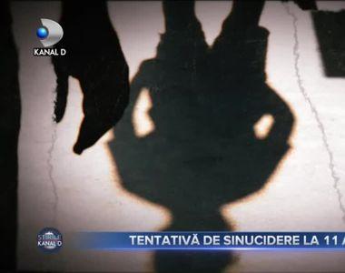 Tentativa de sinucidere la 11 ani