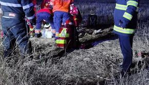 VIDEO | Plan roșu de intervenție - Accident rutier în Teleorman. S-au înregistrat opt victime, dintre care două au murit