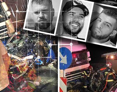VIDEO   Trei prieteni au murit pe loc după ce mașina lor a fost spulberată de un TIR,...