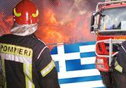 VIDEO | România trimite în Grecia pompieri și autospeciale pentru stingerea incendiilor
