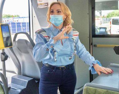 Autobuz de 740.000 de euro, lung de 12 metri, în Capitală. Firea reacționează dur