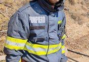 Imagini cu pompierii români care au ajutat la stingerea incendiilor violente din Grecia