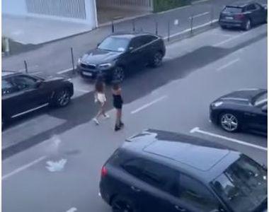 VIDEO | Un bărbat a aruncat cu scaune și sticle în turiști, dintr-un hotel din Mamaia
