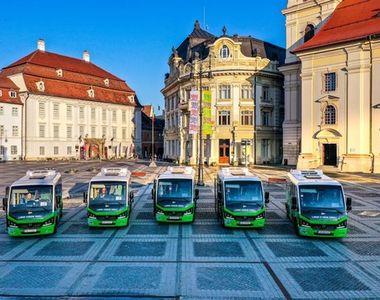 Sibiul va inaugura linia verde de transport electric pentru a rezolva problema lipsei...