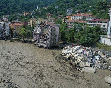 Noul bilanț al inundațiilor din Turcia: 27 de morți