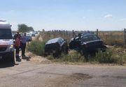 Accident rutier cumplit. Două autoturisme au fost implicate