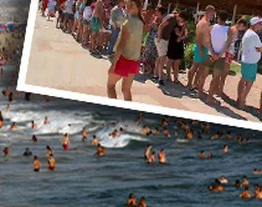 VIDEO | Mii de turiști îndură ore la cozi infernale, în trafic, la fast food-uri sau în...