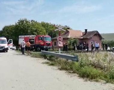 O femeie a murit la spital după gravul accident feroviar care a avut loc luni, 16...