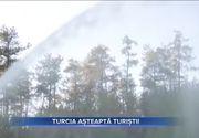 VIDEO | Turcia, pregătită să primească noi turiști. Incendiile au fost localizate