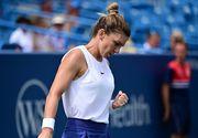 """Simona Halep, calificare în turul doi la Cincinnati. Prima victorie după 3 luni: """"A fost dificil"""""""