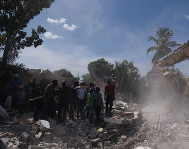 Cel mai recent bilanț al cutremurului din Haiti: aproape 2.000 de morți