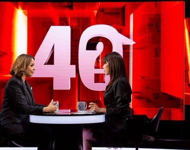 """Andreea Marin, invitata primei ediții a noului sezon """"40 de întrebări cu Denise Rifai"""",..."""