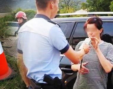 VIDEO | O femeie aflată în stare de ebrietate a băgat 3 oameni în spital