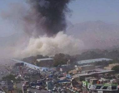 Schimb de focuri în care au fost implicate forţe afgane, americane şi germane, pe...