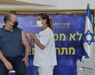 Mai puține focare de coronavirus în Israel, după vaccinarea cu doza 3