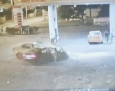 VIDEO | Taximetrist bătut și amenințat cu moartea de un șofer beat, care provocase un...
