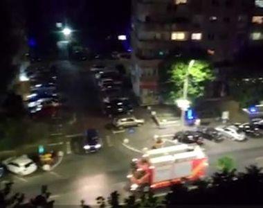 S-a dat alarmă că spitalul Marie Curie din Capitală a luat foc. 15 autospeciale au...